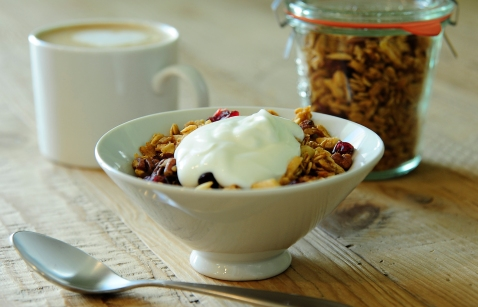 Get Your Morning Moving Granola